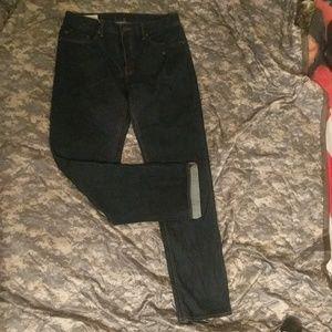 Banana Republic 34x34 dark blue straight fit jeans